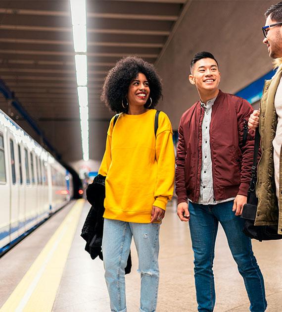 transporte público ferrocarriles encuesta DIAMOND